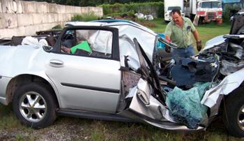 alamo teen car accident sunday am