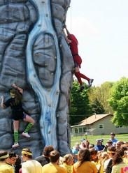 ArgosHS_FieldDay2011Rock climbing