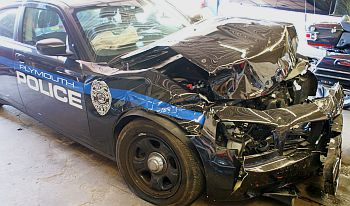 Third City Squard Car Totaled In Less Than A Month