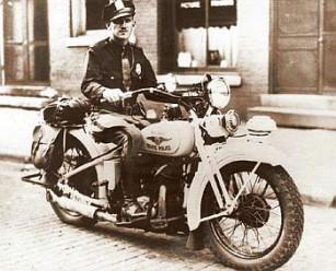 ISP 1930s Motocycle