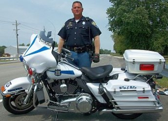 ISP_Master Trooper Chip McKee and Cycle