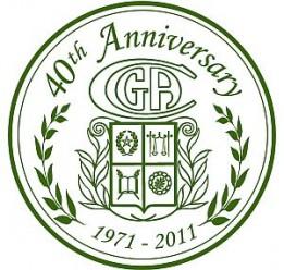 CGA 40th annv seal_O