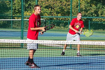 PHS Tennis Boys Doubles Sectional Crown 1