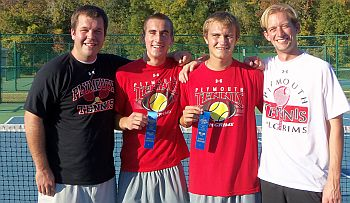 PHS Tennis Boys Doubles Sectional Crown