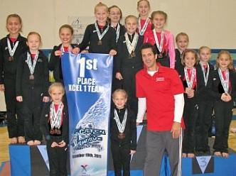 Jana's Nov2011_1st Place Bronze Team