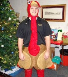 Argos Turkey Teacher Week Mr  Medich in turkey costume