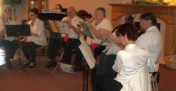 Miller's Church orchestra ensemble 2012