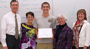 Community Foundation_Lilly Scholar Jack Jordan