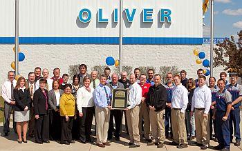 Oliver Ford President Award 12