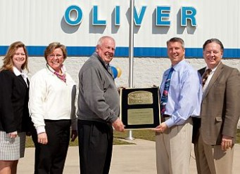 Superior Service And Customer Satisfaction Earn Oliver Ford Of Plymouth A National Award By Ford