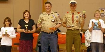 PinewoodDerby_Open class winners 1st-5th