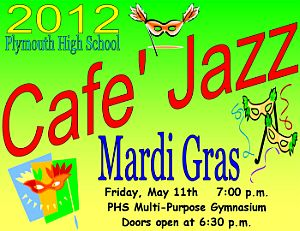 Cafe Jazz Poster 2012