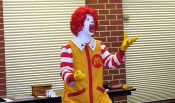 PlymouthLibrary_Ronald McDonald 2012