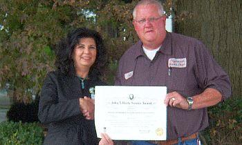 Jeff Yeazel 9-21-12 Hurty Award