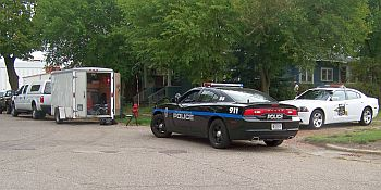 City police find meth lab and burglar at 321 w laporte for Laporte city police