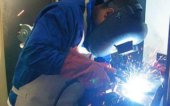 Student-welding