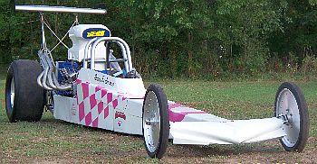 LifePlex_dragster Breast Cancer Car