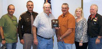 Sheriff's Reserve retirement Bob Brown