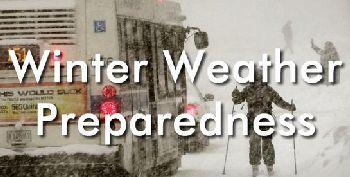Winter Weather prepardness