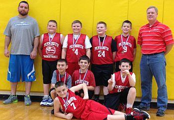 4th Grade Boys Basketball Champ 2013