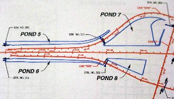7th Road interchange Drainage Plan_Map_leftside