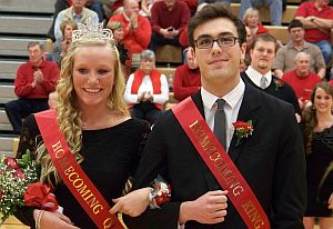 PHS_Basketball_Homecoming2013_King&Queen
