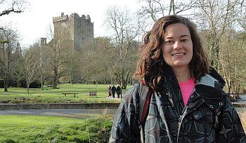 Purdue Band Ireland_mae castle