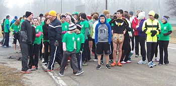 St. Paddy's Day Dash 2013_Run