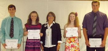 Kiwanis 2013 scholarships