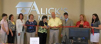 Ribbon Cutting Alick Home Medical Wtca Fm 106 1 And Am 1050 The