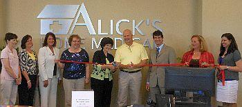 Ribbon Cutting Alick Home Medical