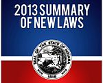 New laws 2013