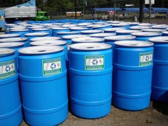 BlueberryGoesGreen2012_Recycle Barrels