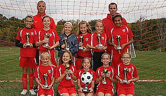 U11 Girls Soccer 2013-2014