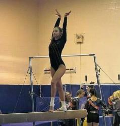 PHS_Gymnastics_Nicole Davis Beam