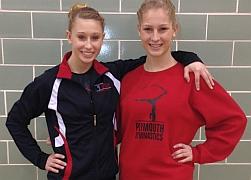 PHSGymnastics_Cassi and Nicole Regional Qualifyers