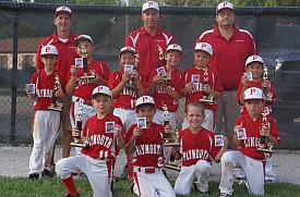 Plymouth's 8U and 10U Travel Baseball Teams' Advance to