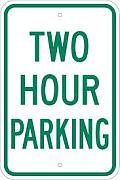 two hour parking