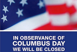Bmv Announces Columbus Day Closure Wtca Fm 106 1 And Am