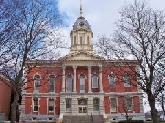 Marshall COunty Court House West side