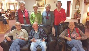 dar chapter visits veterans at miller s assisted living wtca fm