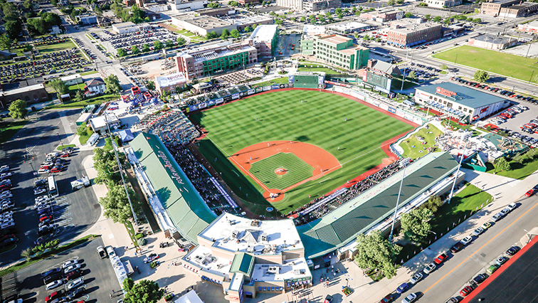 Aerial four winds field
