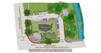 crossroads site plan