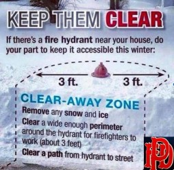 Hydrant clear